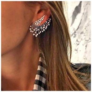 Multi Rhinestone Boho Goth Style Earring